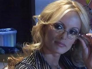 mature blond teacher with huge knockers takes