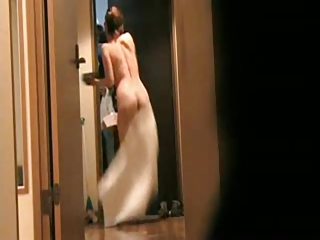 japanese wife flashing delivery guy 5