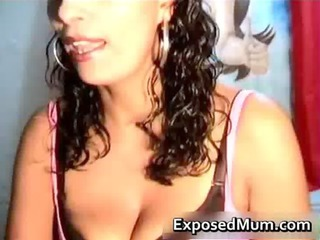 latin milf with difficult tits and superb