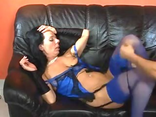 mature sweetie fucks and sucks after that ingests