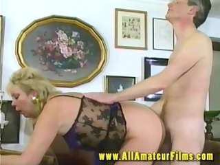 slutty gilf pierced on video