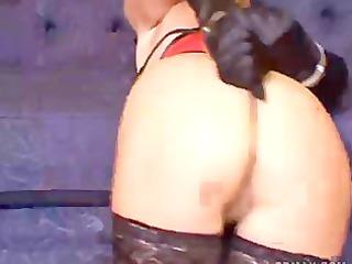 chick struggles in bondage for you