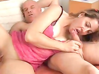 sexy cougar fresh enjoys a fuck and a facial