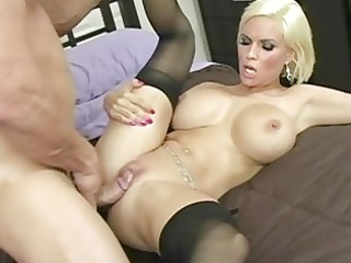 surprising pale cougar girl with huge bossom