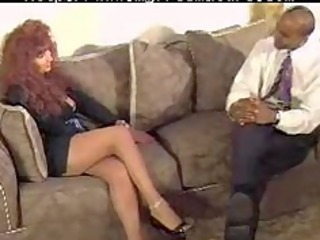 redhead girl takes drilled by bbc mature older