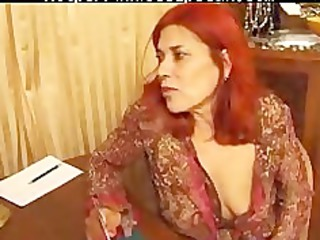 french elderly woman dike games...f70