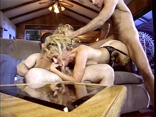 stunning bitch bends her wet vagina over and