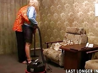 mature young sex after cleaning