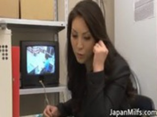naughty japanese ladies licking and drilling