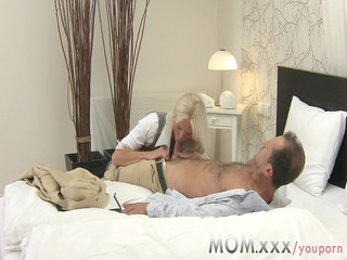 angel albino busty milf has multiple climax