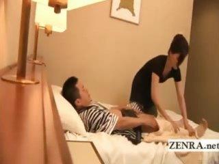 subtitled japan masturbation in front of belle