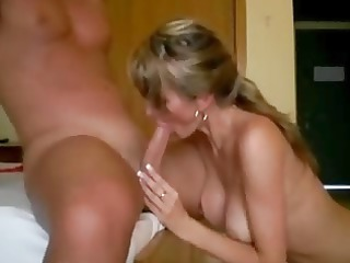 housewife obtains cream pie