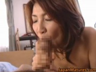 naughty japanese elderly chicks licking