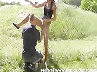 she adores being fisted inside outdoor