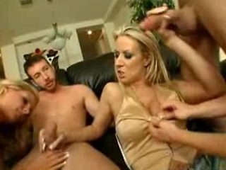 group sex with three awesome milfs!