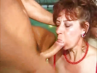 granny dick sucking cumpilation