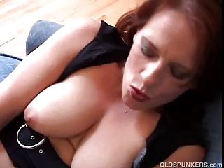 stunning mature fresh has giant beautiful breast