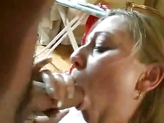inexperienced mature babe anal and facial