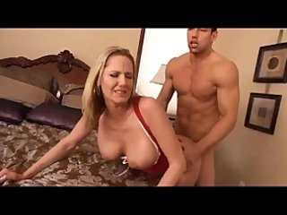 mommy spurting on sons fucker