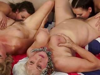 grannies adore inexperienced compilation