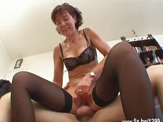 french mature sodomized into nylons