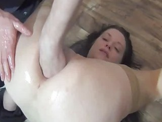 fisting the wifes butt for the initial time