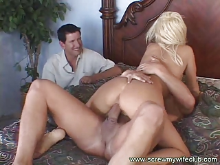 awesome blonde woman fucked and squirted