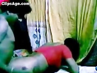 southindian wonderful servant aunty gang-banging