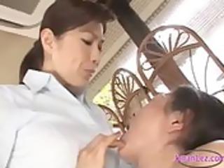 2 mature women kissing spitting rubbing breast on