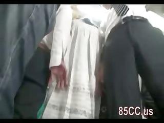 desperate lady dick sucking stranger on bus