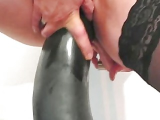 frustrated housewife banging great vibrators