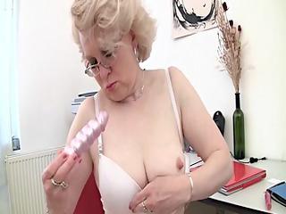 albino mature and her gang bang device