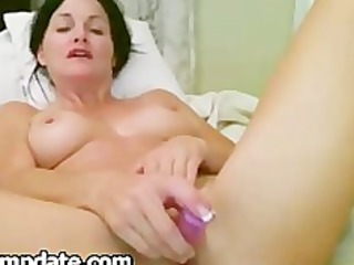 gorgeous angel playing her desperate cave
