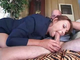 cougar angel in brown suit is totally happy about