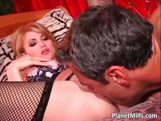 bleached woman into ebony nylons satisfying part4