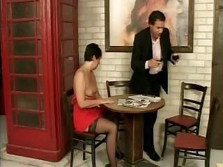 older brunette inside sexy nylons demands to own