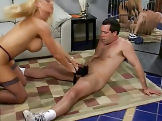 awesome horny ancient older in shoes drives dick