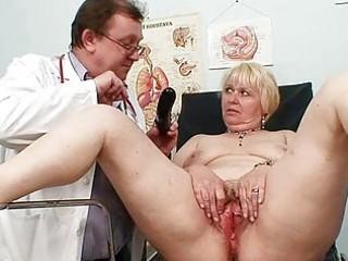 heavy pale milf shaggy cave medic exam