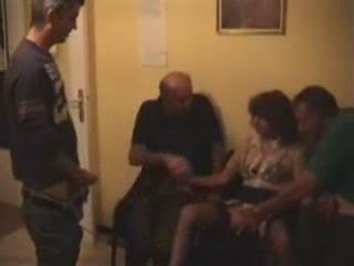 young older woman gang bang filled