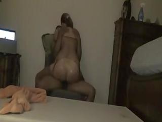 interracial older sex clip big wazoo babe rides