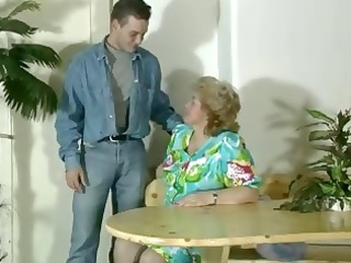 old heavy pale old acquires toyed and sucks on
