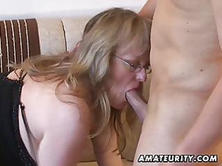 naughty amateur girl sucks and gangbangs with