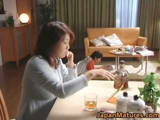 horny japanese mature whores tasting