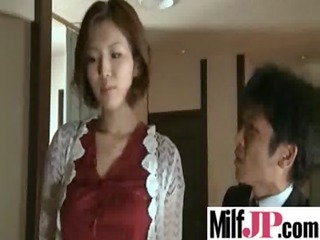 busty asians milfs acquires fucked really uneasy