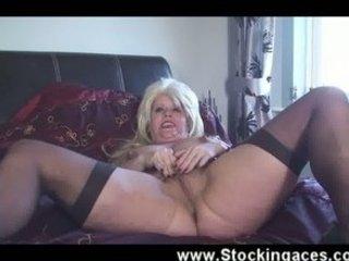 wonderful european lady copulates on video when