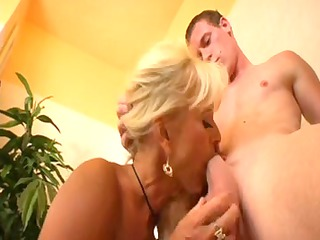 blond mother id like to pierce eats youthful