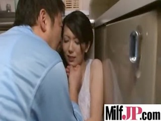 horny asians bitches obtains drilled really