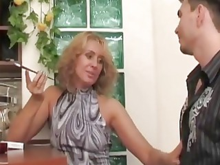 russian milf bitch seduces,fuck...