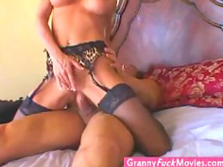 gilf still enjoys a hard dick into her old cave