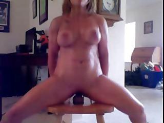 chick vibrator chair orgasm
